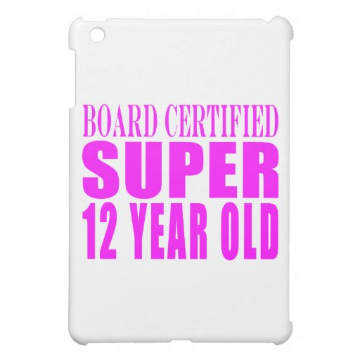 Cumpleaños B. Certified Super de los chicas doce a iPad Mini Cárcasas