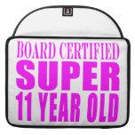 Cumpleaños B. Certified Super de los chicas once a Funda Para Macbooks