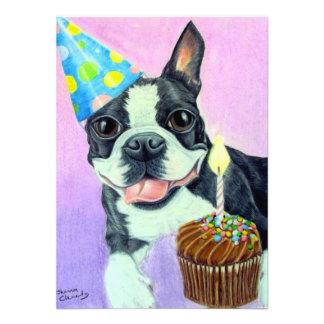 Cumpleaños Boston Comunicado Personalizado