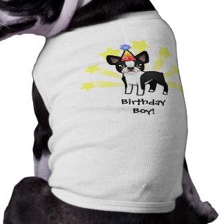 Cumpleaños Boston Terrier Camisetas De Perro