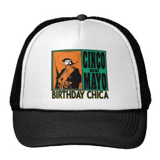 Cumpleaños Chica de Cinco de Mayo Gorro De Camionero