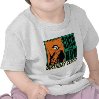 CUMPLEAÑOS CHICO de Cinco de Mayo Camiseta
