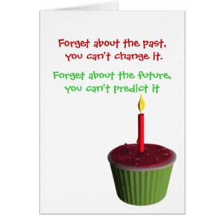 Cumpleaños chistoso tarjeta de felicitación