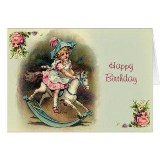 Cumpleaños cruzado de Banbury al feliz Tarjeta De Felicitación