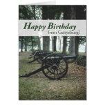 Cumpleaños de 2676 canones de Gettysburg Felicitacion