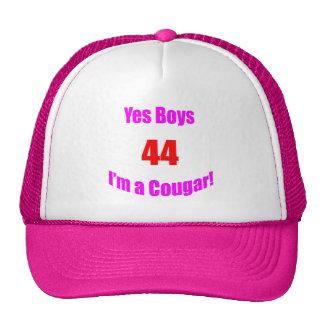 Cumpleaños de 44 pumas gorras de camionero
