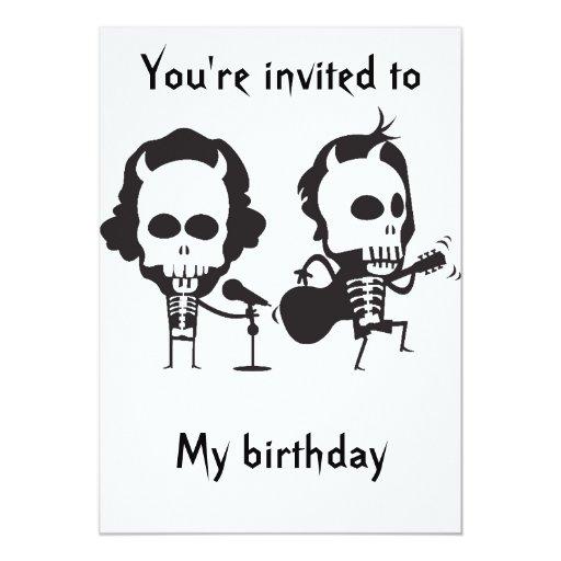 Cumpleaños de AC/DC Comunicados Personalizados