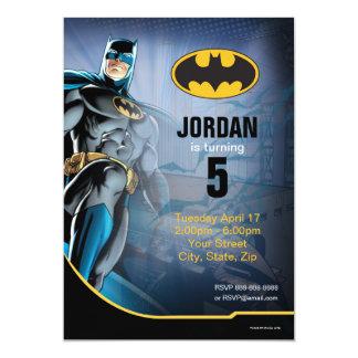 """Cumpleaños de Batman Invitación 5"""" X 7"""""""