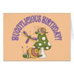 Cumpleaños de Buggylicious Tarjeta