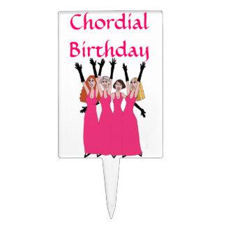 Cumpleaños de Chordial Figuras De Tarta