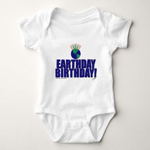 Cumpleaños de Earthday Playeras