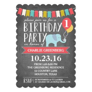"""Cumpleaños de encargo de la fiesta de cumpleaños invitación 5"""" x 7"""""""