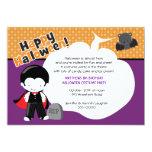 Cumpleaños de Halloween de Drácula y del palo Comunicados Personales