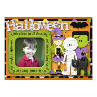 Cumpleaños de Halloween Invitaciones Personalizada