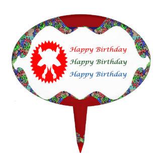 Cumpleaños de HappyBirthday del cumplidor del Decoración Para Tarta