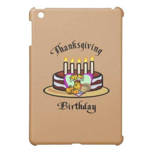 Cumpleaños de la acción de gracias