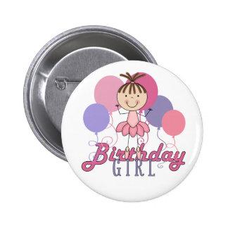 Cumpleaños de la bailarina de los chicas pin