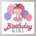 Cumpleaños de la bailarina de los chicas posters
