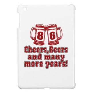 Cumpleaños de la cerveza de 86 alegrías