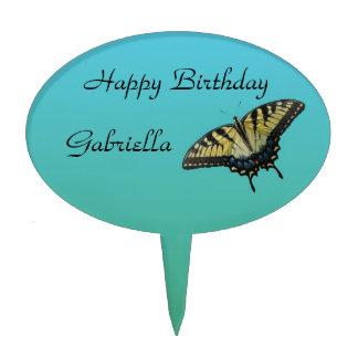 Cumpleaños de la mariposa decoraciones para tartas
