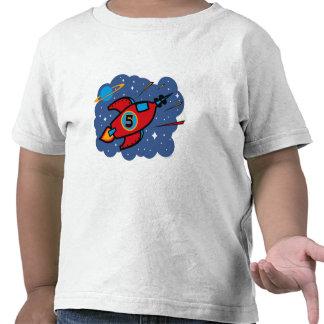 Cumpleaños de la nave de Rocket 5to Camiseta