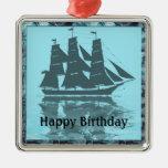Cumpleaños de la nave de Viking Adorno