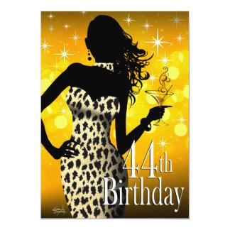"""Cumpleaños de la onza de la chispa de la bomba invitación 5"""" x 7"""""""