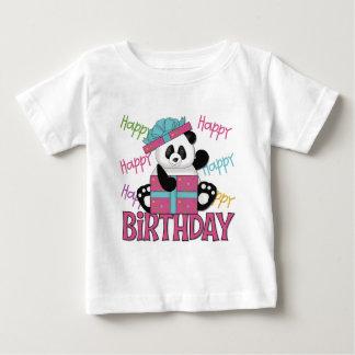Cumpleaños de la panda polera