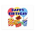 Cumpleaños de la película postal