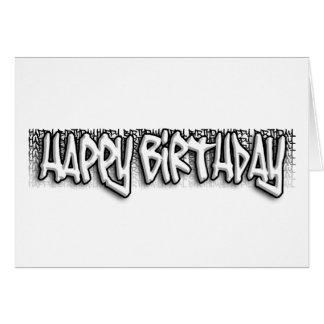 Cumpleaños de la pintada felicitacion