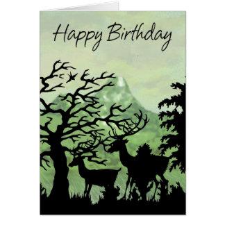 Cumpleaños de la tarjeta de cumpleaños feliz con l