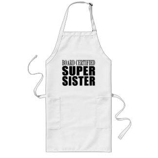 Cumpleaños de las hermanas Hermana estupenda cert Delantales