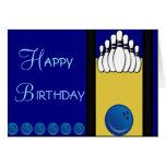 Cumpleaños de los bolos felicitaciones