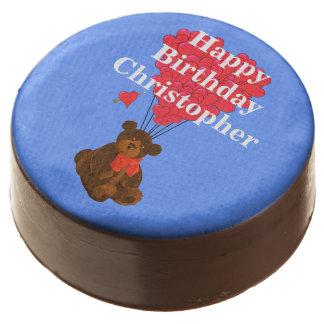 Cumpleaños de los childs del oso de peluche de la