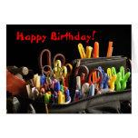 Cumpleaños de los Crafters Tarjeta