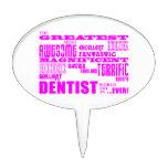 Cumpleaños de los dentistas del chica: Dentista má Decoración De Tarta