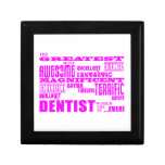 Cumpleaños de los dentistas del chica: Dentista má Cajas De Recuerdo