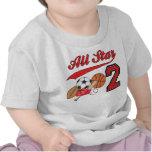 Cumpleaños de los deportes de All Star 2do Camiseta