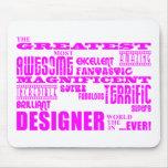 Cumpleaños de los diseñadores de los chicas: Diseñ Alfombrillas De Ratones