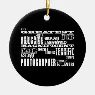 Cumpleaños de los fotógrafos: El fotógrafo más Adorno Redondo De Cerámica
