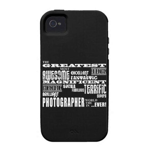 Cumpleaños de los fotógrafos: El fotógrafo más gra Vibe iPhone 4 Carcasa