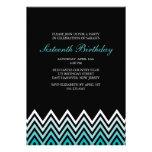 Cumpleaños de los galones de Ombre de la aguamarin Anuncios