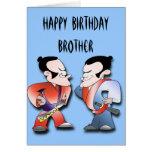 Cumpleaños de los hermanos de los guerreros del sa felicitaciones