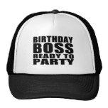Cumpleaños de los jefes: Cumpleaños Boss listo par