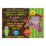 Cumpleaños de los monstruos de Lil primer Comunicado Personalizado