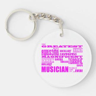 Cumpleaños de los músicos de los chicas: Músico má Llaveros