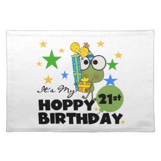 Cumpleaños de lúpulo de Froggie 21ro Manteles