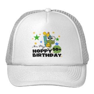Cumpleaños de lúpulo de Froggie 50 o Gorro