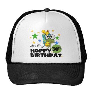 Cumpleaños de lúpulo de Froggie trigésimo Gorras