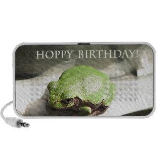 Cumpleaños de lúpulo de la rana iPhone altavoz
